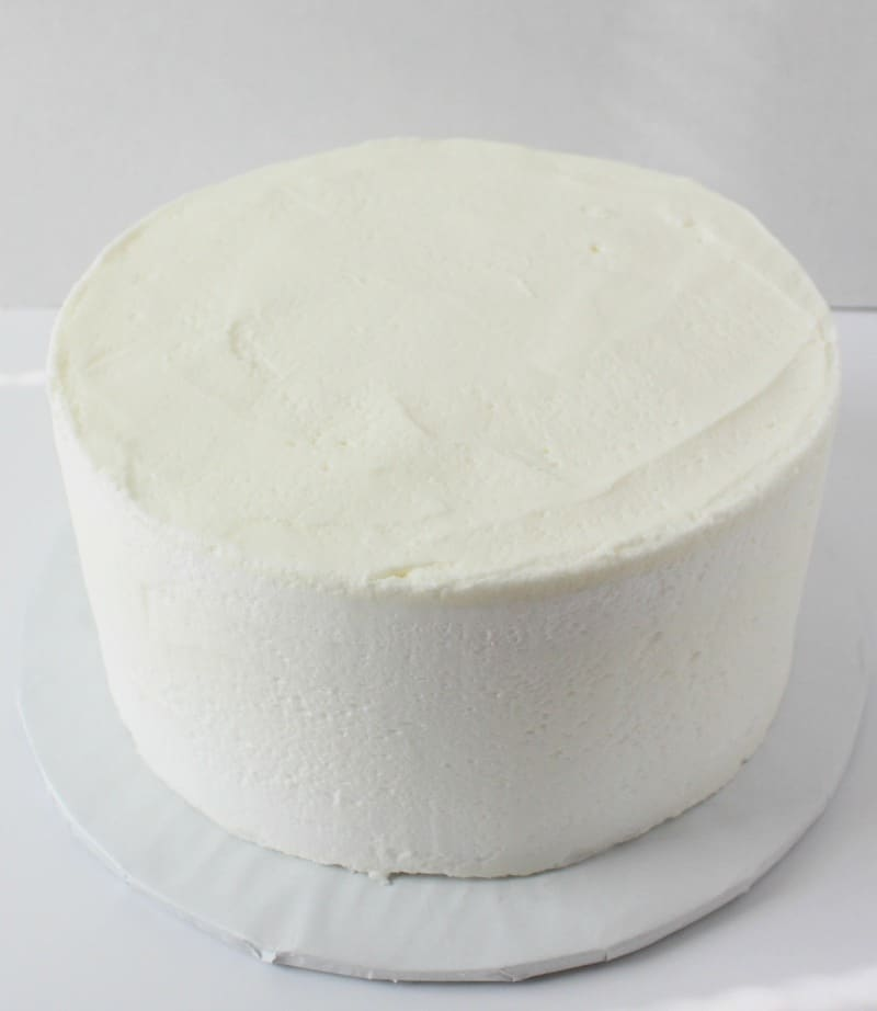 smooth your buttercream