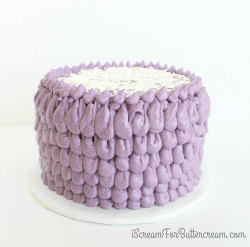 Easy Ruffle Cake