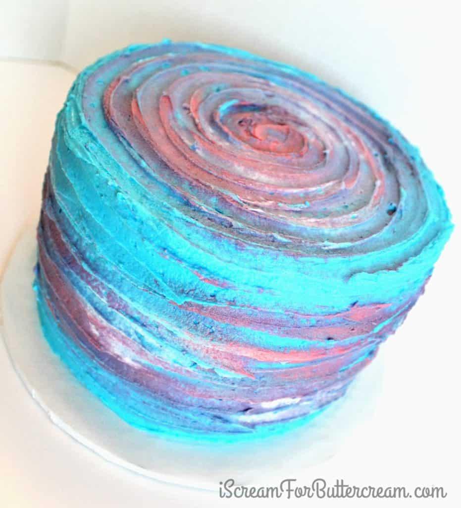 Watercolor Ccake Top