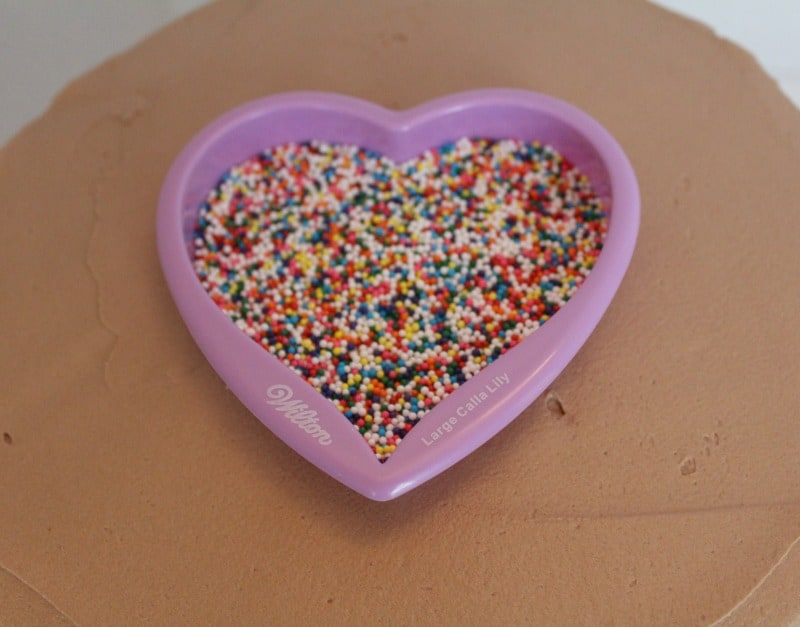 Shaped sprinkles