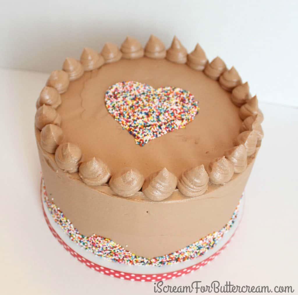 The sprinkle cake
