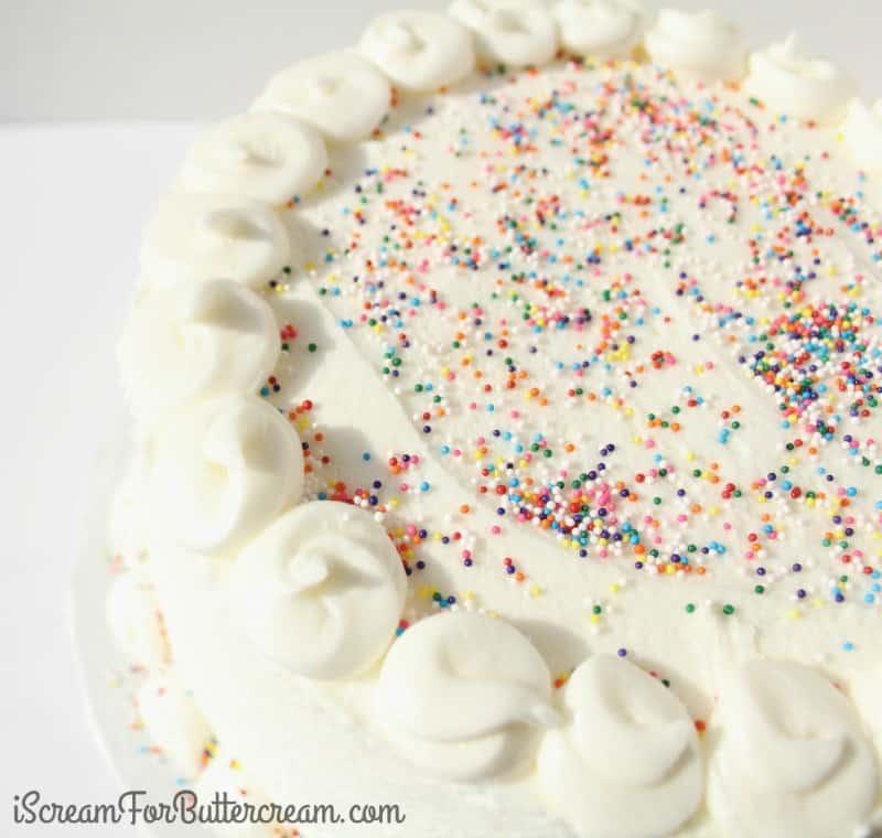 Easy Bakery Style Cake