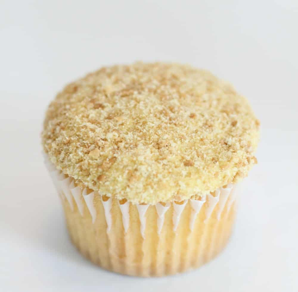 Sand look on cupcakes