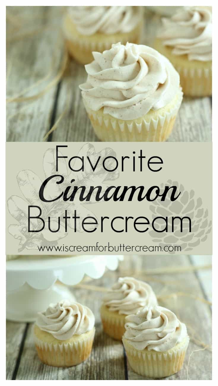 Cinnamon Buttercream