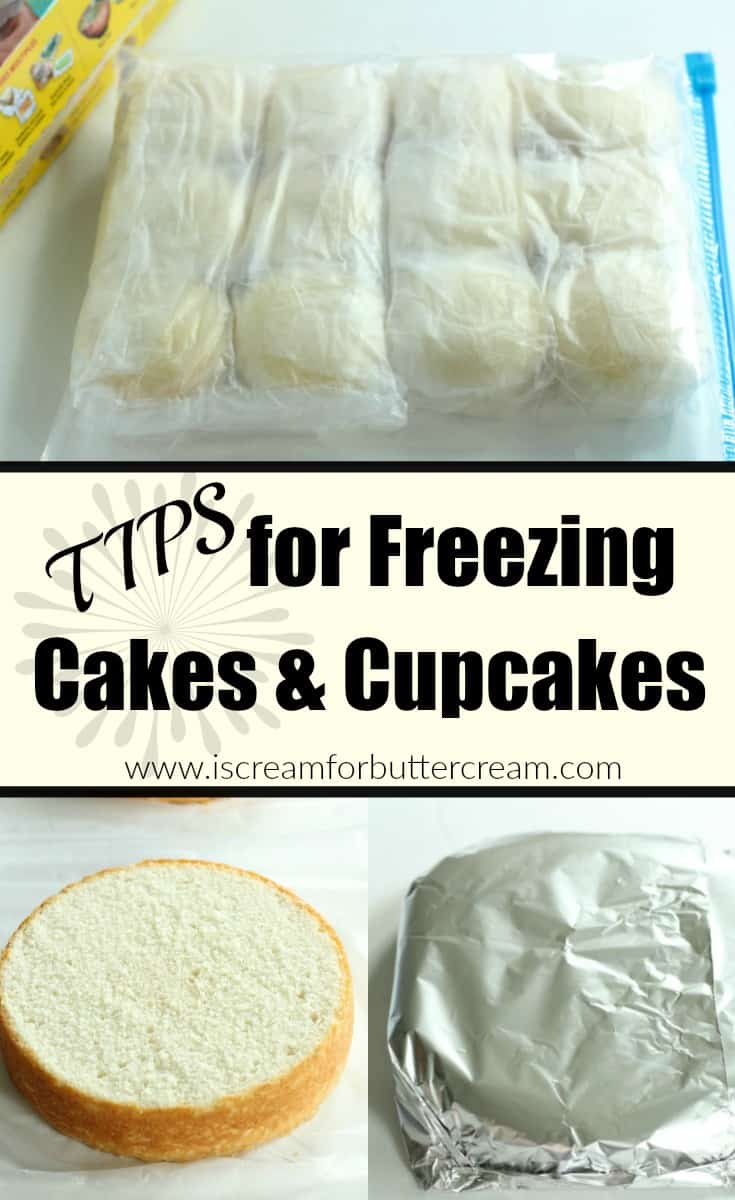 Freezing Cakes With Butter Icing