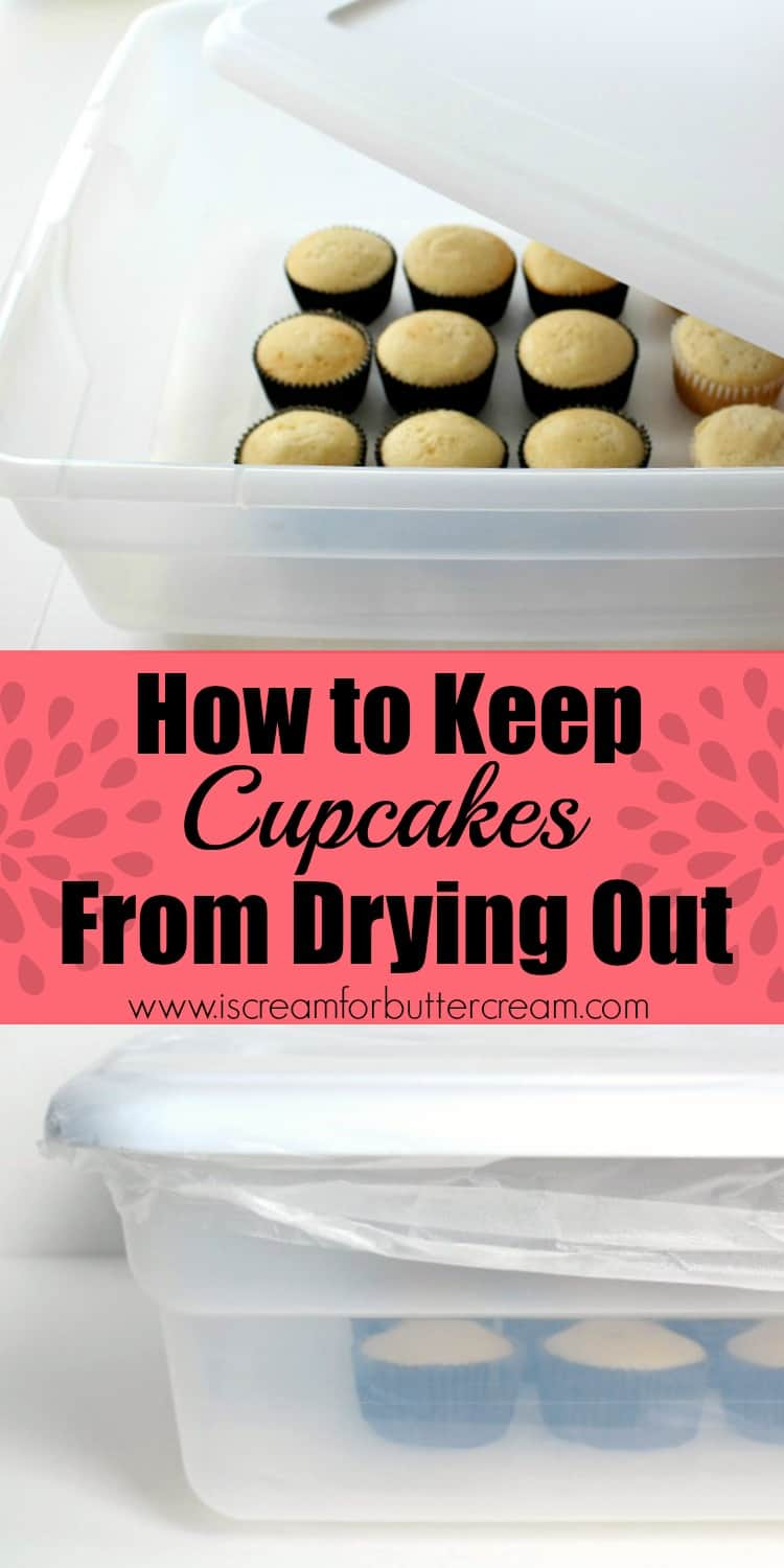 Keep Cupcakes from Drying Out