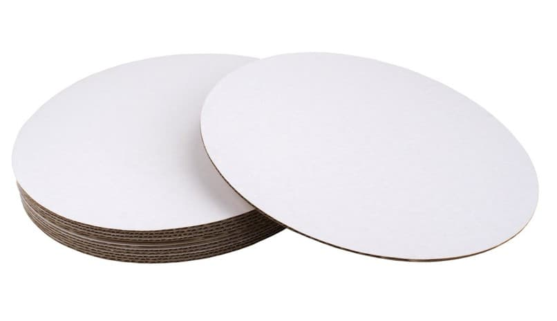 Professional Quality 20 cm 3 x 8 inch Square Thin Silver Cake Boards