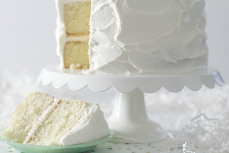 Wedding Cake Recipe.Favorite Vanilla Bean Cake